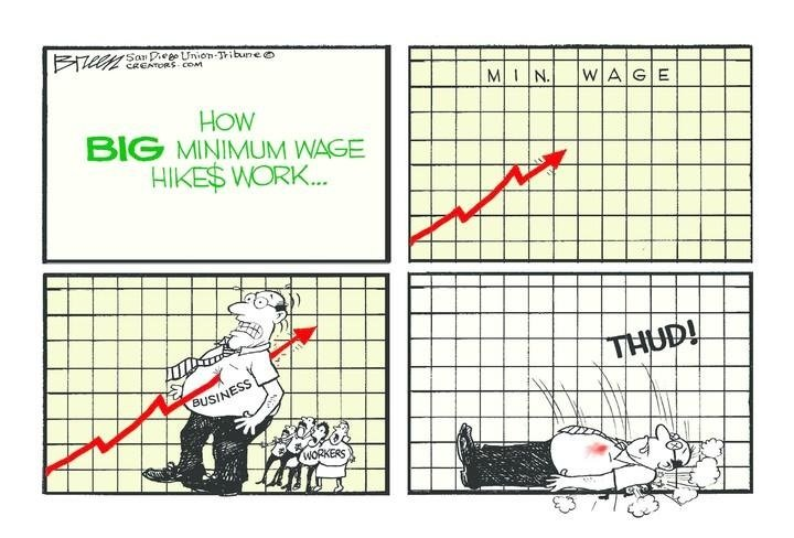 Big minimum wage